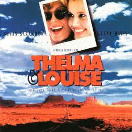 Обложка к диску с музыкой из фильма «Тельма и Луиза»