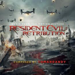 Обложка к диску с музыкой из фильма «Обитель зла: Возмездие»