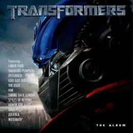 Обложка к диску с музыкой из фильма «Трансформеры»