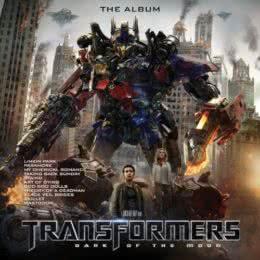 Обложка к диску с музыкой из фильма «Трансформеры: Темная сторона луны»