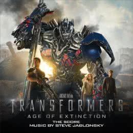 Обложка к диску с музыкой из фильма «Трансформеры: Эпоха истребления»