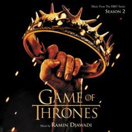 Обложка к диску с музыкой из сериала «Игра престолов (2 сезон)»
