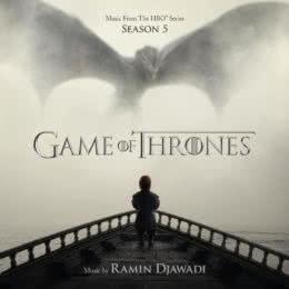Обложка к диску с музыкой из сериала «Игра престолов (5 сезон)»