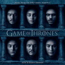 Обложка к диску с музыкой из сериала «Игра престолов (6 сезон)»