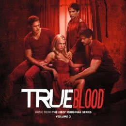 Обложка к диску с музыкой из сериала «Настоящая кровь (3 сезон)»