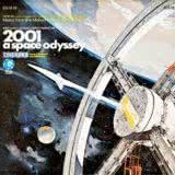 Маленькая обложка диска с музыкой из фильма «Космическая одиссея 2001»
