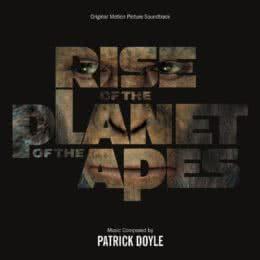 Обложка к диску с музыкой из фильма «Восстание планеты обезьян»