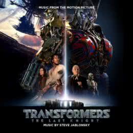 Обложка к диску с музыкой из фильма «Трансформеры: Последний рыцарь»