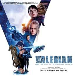 Обложка к диску с музыкой из фильма «Валериан и город тысячи планет»