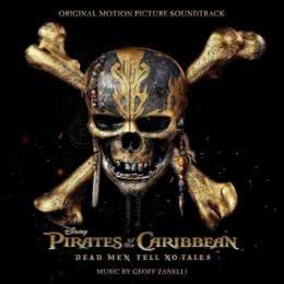 Обложка к диску с музыкой из фильма «Пираты Карибского моря: Мертвецы не рассказывают сказки»