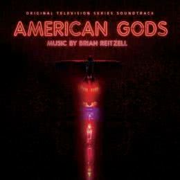 Обложка к диску с музыкой из сериала «Американские боги (1 сезон)»