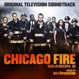Обложка к диску с музыкой из сериала «Чикаго в огне (2 сезон)»