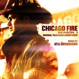 Обложка к диску с музыкой из сериала «Чикаго в огне (1 сезон)»