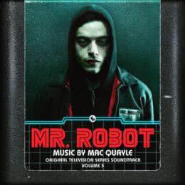Обложка к диску с музыкой из сериала «Мистер Робот (Volume 3)»