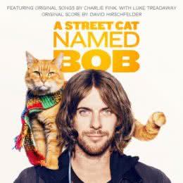 Обложка к диску с музыкой из фильма «Уличный кот по кличке Боб»