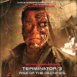 Обложка к диску с музыкой из фильма «Терминатор 3: Восстание машин»