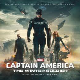 Обложка к диску с музыкой из фильма «Первый мститель: Другая война»