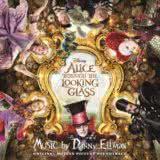 Маленькая обложка диска с музыкой из фильма «Алиса в Зазеркалье»