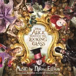 Обложка к диску с музыкой из фильма «Алиса в Зазеркалье»