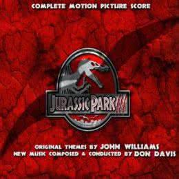 Обложка к диску с музыкой из фильма «Парк юрского периода III (Complete Edition)»