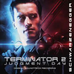 Обложка к диску с музыкой из фильма «Терминатор 2: Судный день»