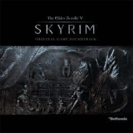 Обложка к диску с музыкой из игры «The Elder Scrolls V: Skyrim»