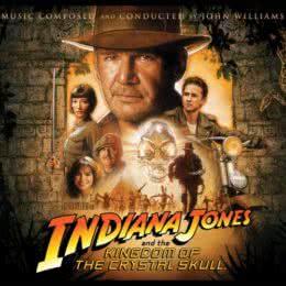 Обложка к диску с музыкой из фильма «Индиана Джонс и Королевство хрустального черепа»
