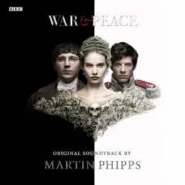 Обложка к диску с музыкой из сериала «Война и мир (1 сезон)»