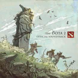 Обложка к диску с музыкой из игры «The DOTA 2»