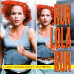 Обложка к диску с музыкой из фильма «Беги, Лола, беги»