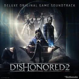 Обложка к диску с музыкой из игры «Dishonored 2»