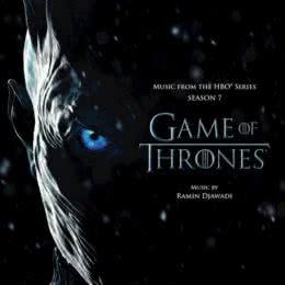 Обложка к диску с музыкой из сериала «Игра престолов (7 сезон)»