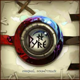 Обложка к диску с музыкой из игры «Pyre»