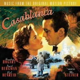 Обложка к диску с музыкой из фильма «Касабланка»
