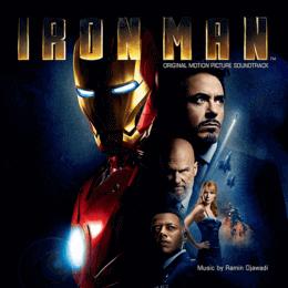 Обложка к диску с музыкой из фильма «Железный человек»
