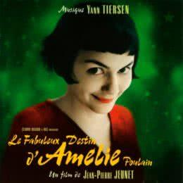 Обложка к диску с музыкой из фильма «Амели»