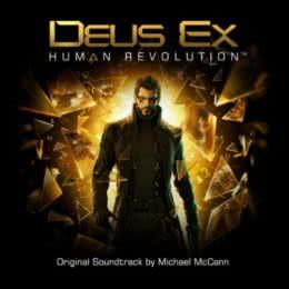 Обложка к диску с музыкой из игры «Deus Ex: Human Revolution»