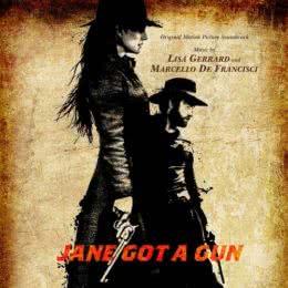 Обложка к диску с музыкой из фильма «Джейн берет ружье»