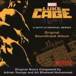 Обложка к диску с музыкой из сериала «Люк Кейдж (1 сезон)»