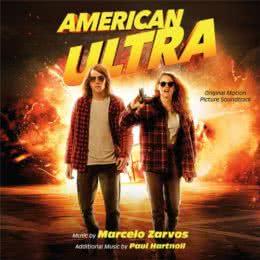 Обложка к диску с музыкой из фильма «Ультраамериканцы»