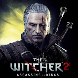 Обложка к диску с музыкой из игры «The Witcher 2: Assassins of Kings»