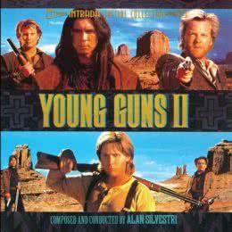 Обложка к диску с музыкой из фильма «Молодые стрелки 2»