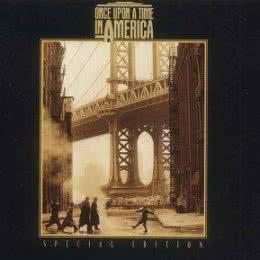 Обложка к диску с музыкой из фильма «Однажды в Америке»