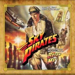 Обложка к диску с музыкой из фильма «Небесные пираты»