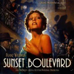 Обложка к диску с музыкой из фильма «Бульвар Сансет»
