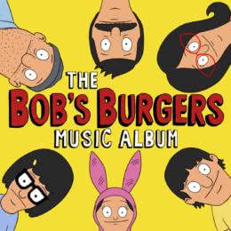Обложка к диску с музыкой из мультфильма «Закусочная Боба»