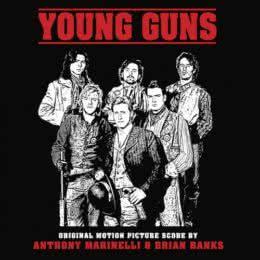 Обложка к диску с музыкой из фильма «Молодые стрелки»