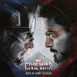 Обложка к диску с музыкой из фильма «Первый мститель: Противостояние»