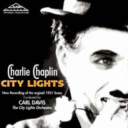 Обложка к диску с музыкой из фильма «Огни большого города»
