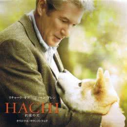 Обложка к диску с музыкой из фильма «Хатико: Самый верный друг»